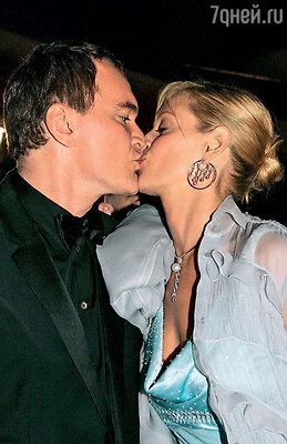 После премьеры «Убить Билла-2». Канн, 2004 г.