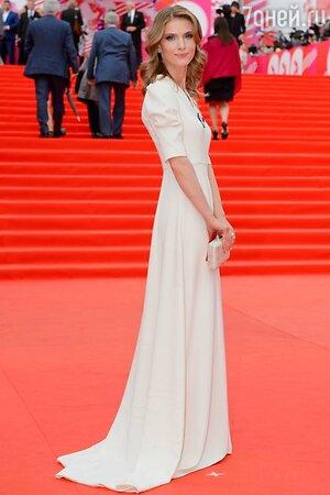 Светлана Иванова в платье от A La Russe