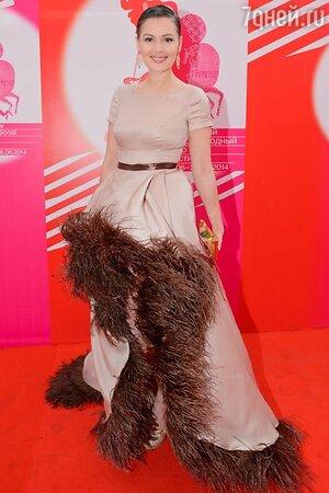 Мария Кожевникова в платье от Alexandra Serova
