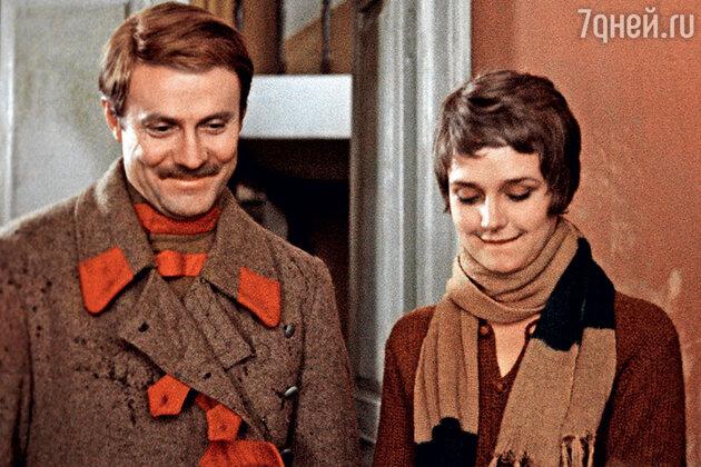 Юрий Соломин c Ириной Алферовой в фильме «Хождение по мукам». 1974 г.