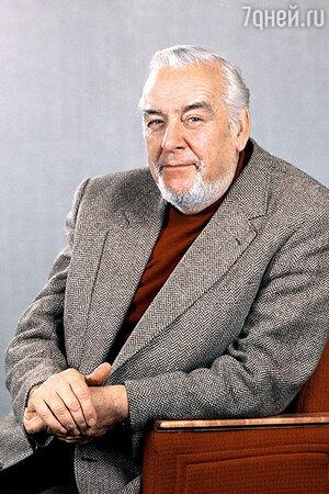 Режиссер Театра имени Маяковского Андрей Гончаров. 1984 г.