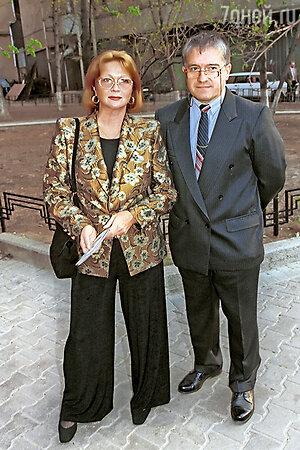 Наталья Гундарева и Михаил Филиппов. 1999 г.