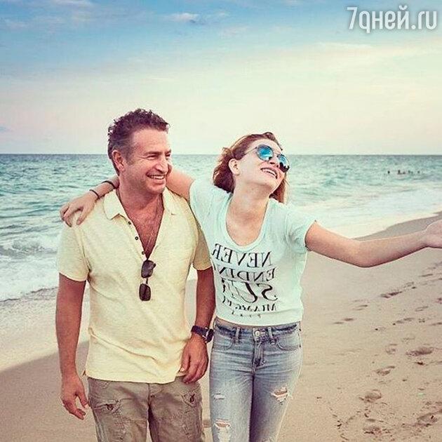 Леонид Агутин с дочкой Лизой