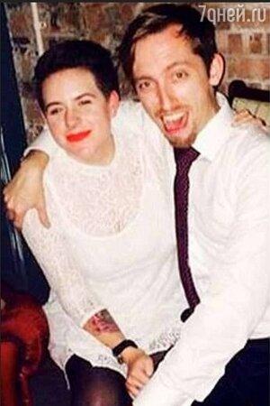 Изабелла Круз и Макс Паркер в день свадьбы