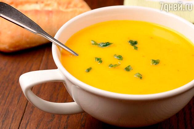 Овощной суп с добавлением имбиря