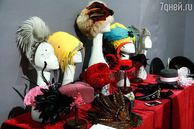 Презентация шляпок Лилии Фишер