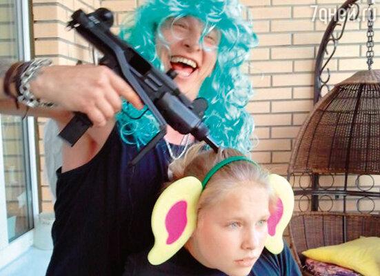 Иван Охлобыстин с дочерью Варварой