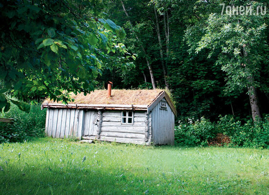 Хютте — традиционный домик норвежского рыбака