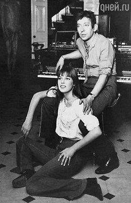 С бывшей женой Джейн Биркин Генсбура когда-то связывали самые романтические отношения. Но она бросила его, как и все остальные женщины