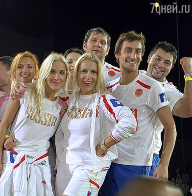 Команда России проекта «Большие гонки»