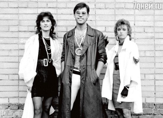 «Мираж» образца 1987 года: Светлана Разина, Андрей Литягин, Наталья Гулькина