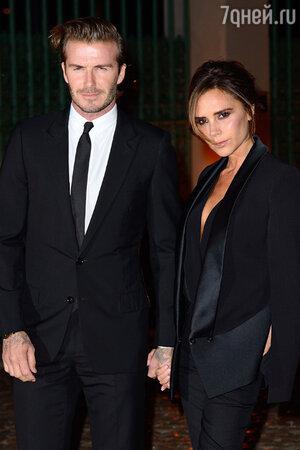 Виктория  (Victoria Beckham)  и Дэвид Бекхэм (David Beckham)