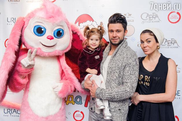 Татьяна Терешина с семьей