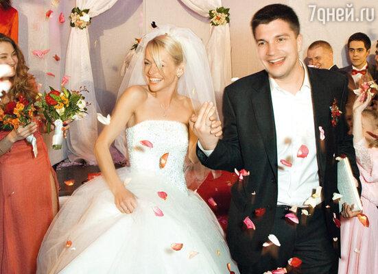 Анна Хилькевич и ее муж Антон