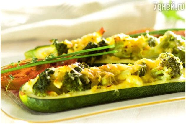 Фаршированные кабачки: рецепт горячей закуски