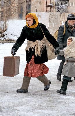 Коренной петербурженке Раппопорт досталась главная роль висторической драме о блокаде