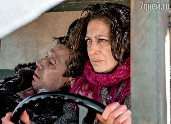 Андрей Мерзликин и Ксения Раппопорт снимались в трюковых сценах без дублеров