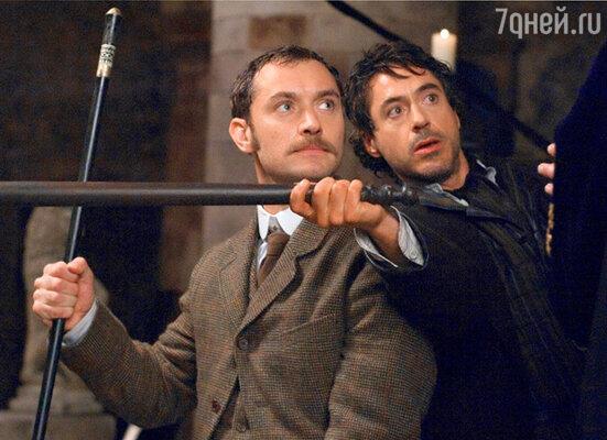 Кадр фильма «Шерлок Холмс»