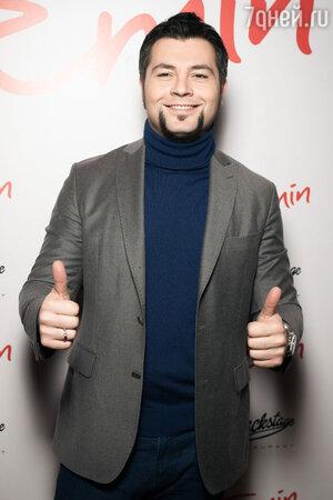 Алексей Чумаков на презентации  альбома EMIN'а