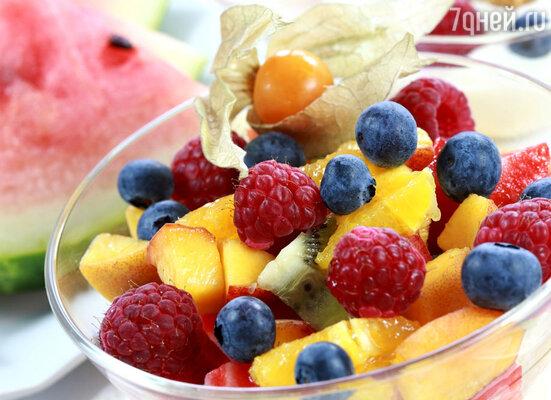 Все фрукты, кроме винограда, бананов, инжира – это ноль. Но если вы поели после шести вечера, то каждому «нулевому» яблоку начинает соответствовать 100 ДИН
