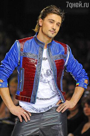 Дима Билан. Неделя моды в Москве. 2012 год