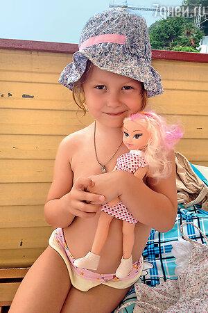 Младшая дочка Марии Порошиной - Аграфена, Груня.