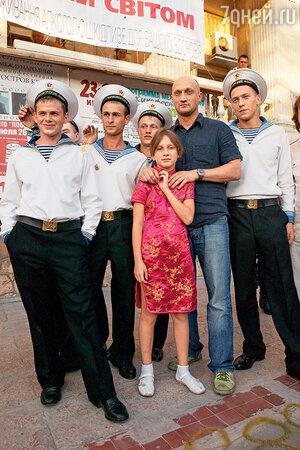 Гоша Куценко с Полиной