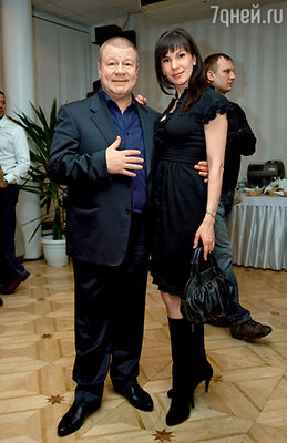 Сергей Селин с супругой Аней