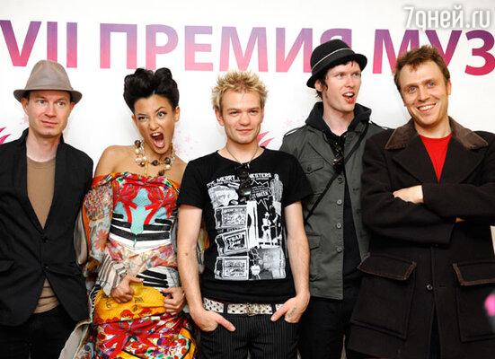 Участники канадской группы «Sum 41»