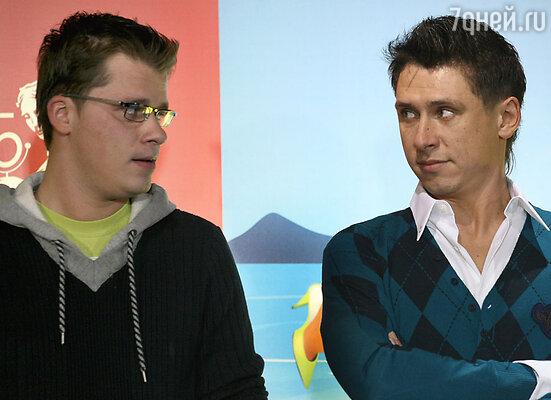 Тимур Батрутдинов и Гарик Харламов. 2006 г.