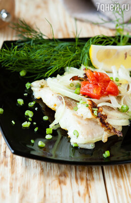 Блюдо из рыбы