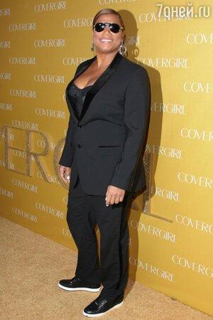 Куин Латифа на вечеринке CoverGirl в 2011 году