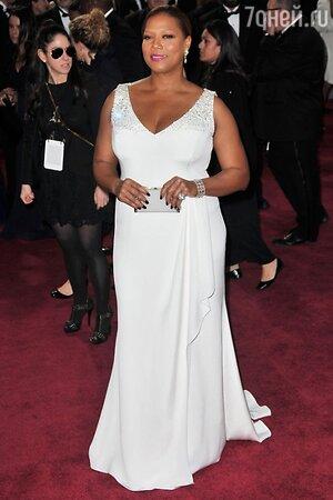 Куин Латифа на церемонии Оскар в 2013 году