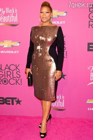 Куин Латифа на церемонии BET Black Girls Rock в 2013 году