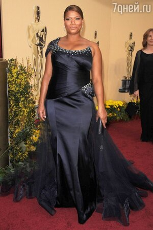 Куин Латифа на церемонии Оскар в 2009 году