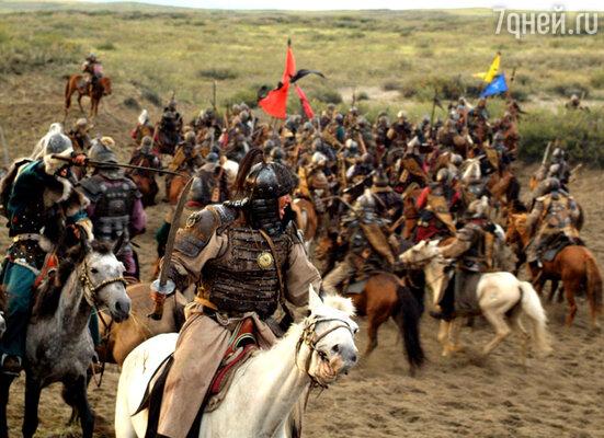Кадр из фильма «Тайна Чингис Хаана»