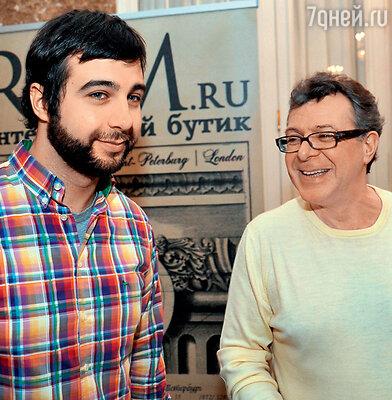 Иван Ургант с отцом Андреем Львовичем