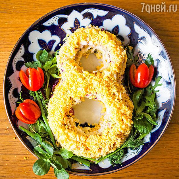 Салат весенняя «Мимоза»