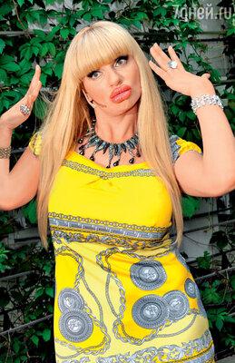 ...блондинка с Рублевки