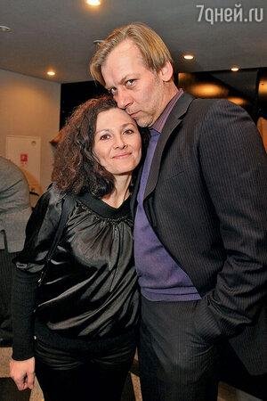 Викор Раков с женой