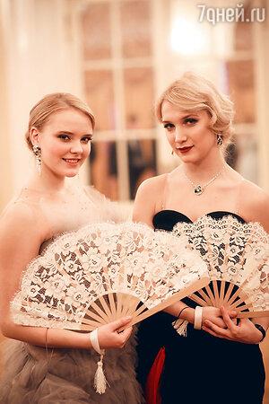 Мария Дунаевская  и Полина Куценко