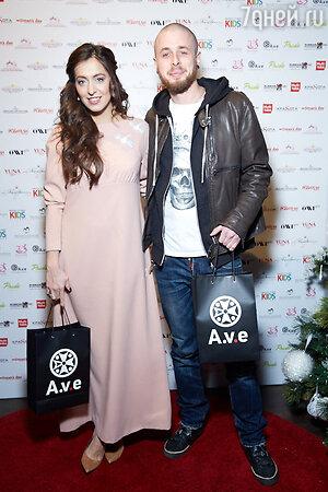 Анастасия Меськова с мужем Александром