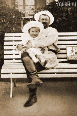 Савва Морозов с сыном Саввой