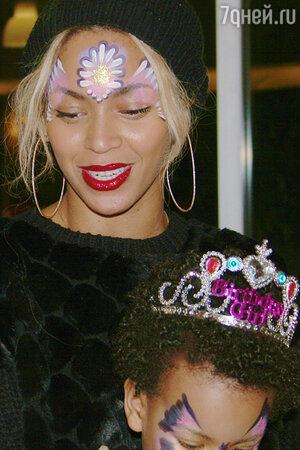 ������� (Beyonce) �������� ������ ���� �������� ����� ������ ��� ���� (Blue Ivy)