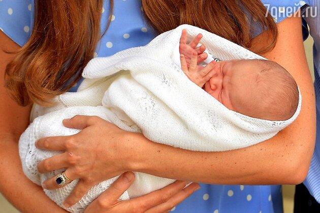 Кейт Миддлтон и принц Джордж