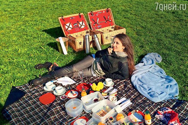 Анна Плетнева на отдыхе в Великобритании. 2014 г.
