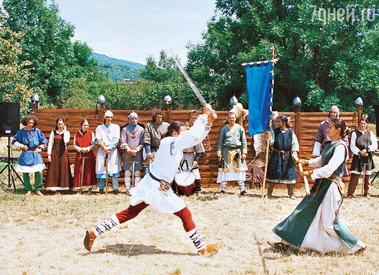 В словацких замках нередко устраиваются театрализованные действа