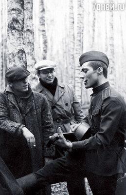 Андрей Кончаловский часто приезжал к нам на съемки. Они с Тарковским тогда писали сценарий «Андрея Рублева»