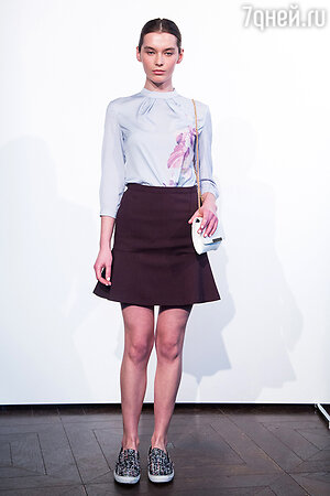 Модель показа Kira Plastinina