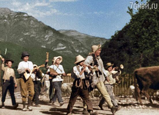 Кадр из фильма «Веселые ребята»
